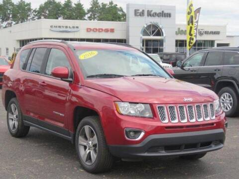 2016 Jeep Compass for sale at Ed Koehn Chevrolet in Rockford MI