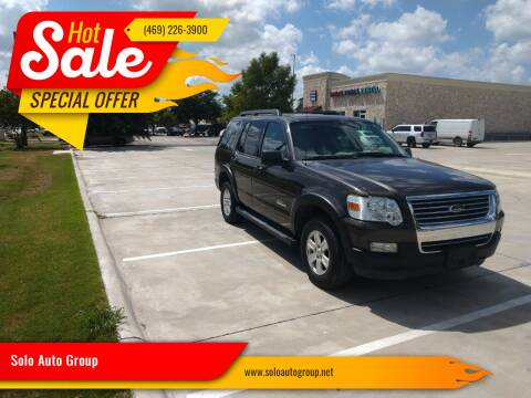 2007 Ford Explorer for sale at Solo Auto Group in Mckinney TX