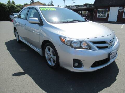 2012 Toyota Corolla for sale at Tonys Toys and Trucks in Santa Rosa CA