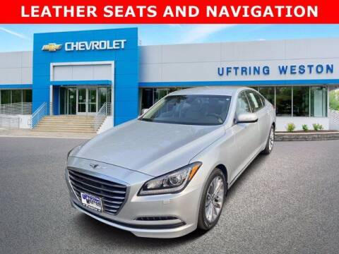 2017 Genesis G80 for sale at Uftring Weston Pre-Owned Center in Peoria IL