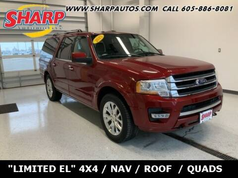 2015 Ford Expedition EL for sale at Sharp Automotive in Watertown SD
