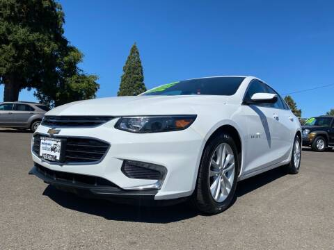 2018 Chevrolet Malibu for sale at Pacific Auto LLC in Woodburn OR