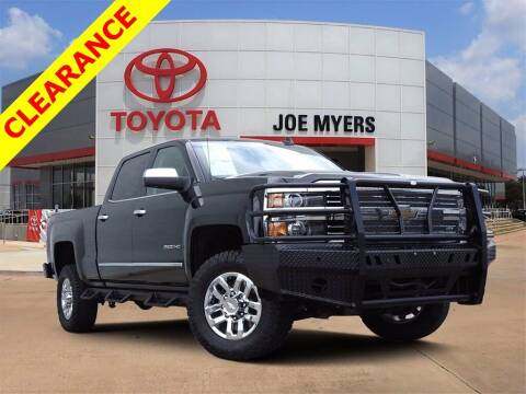 2018 Chevrolet Silverado 2500HD for sale at Joe Myers Toyota PreOwned in Houston TX