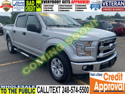 2017 Ford F-150 for sale at North Oakland Motors in Waterford MI