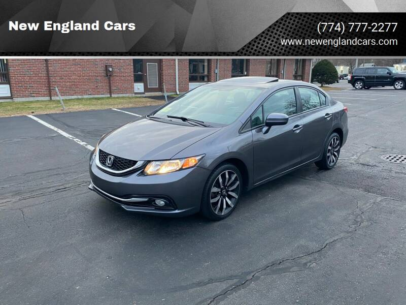 2015 Honda Civic for sale at New England Cars in Attleboro MA