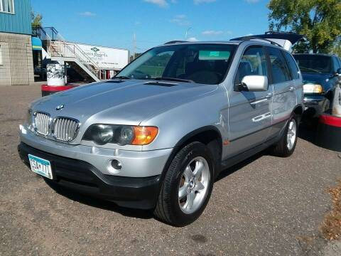 2003 BMW X5 for sale at Kull N Claude Auto Sales in Saint Cloud MN