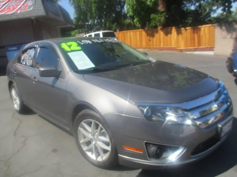 2012 Ford Fusion for sale at Quick Auto Sales in Modesto CA