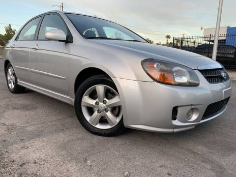 2008 Kia Spectra for sale at Boktor Motors in Las Vegas NV