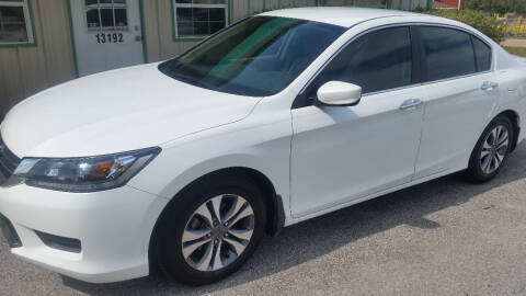 2013 Honda Accord for sale at Haigler Motors Inc in Tyler TX