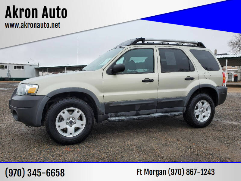 2005 Ford Escape for sale at Akron Auto in Akron CO
