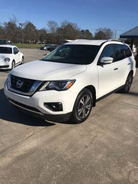 2017 Nissan Pathfinder for sale at Safeway Motors Sales in Laurinburg NC
