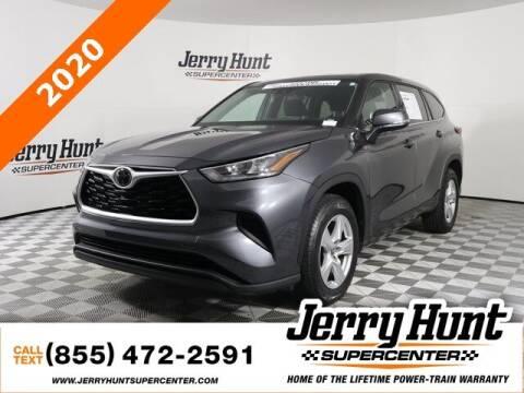 2020 Toyota Highlander for sale at Jerry Hunt Supercenter in Lexington NC