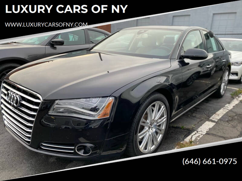 2014 Audi A8 L for sale at LUXURY CARS OF NY in Queens NY