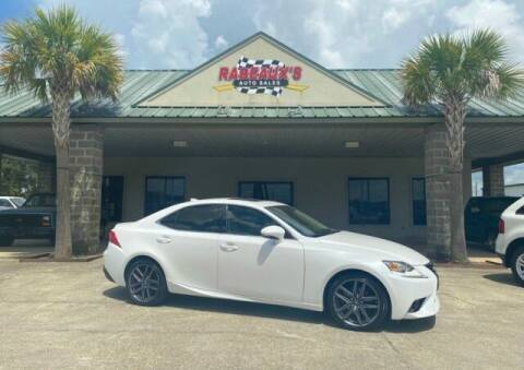 2014 Lexus IS 250 for sale at Rabeaux's Auto Sales in Lafayette LA