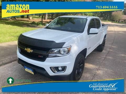 2016 Chevrolet Colorado for sale at Amazon Autos in Houston TX