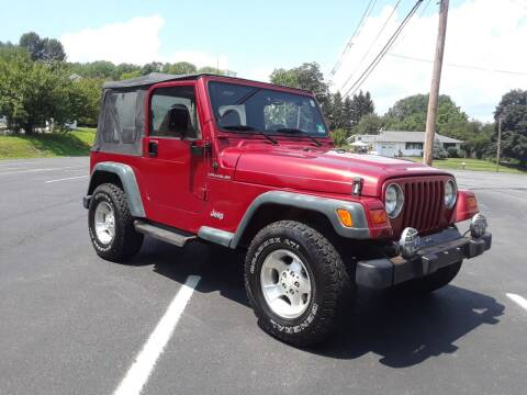 1998 Jeep Wrangler for sale at GREAT MEADOWS AUTO SALES in Great Meadows NJ