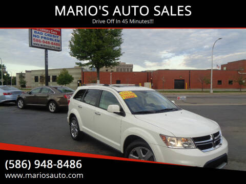2015 Dodge Journey for sale at MARIO'S AUTO SALES in Mount Clemens MI