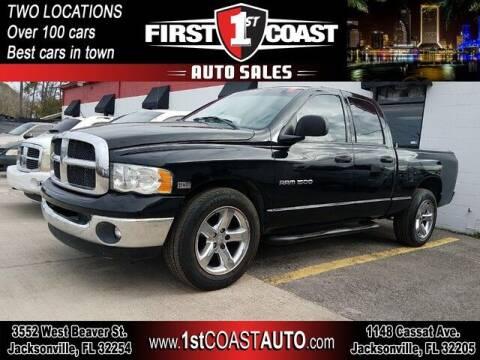 2004 Dodge Ram Pickup 1500 for sale at 1st Coast Auto -Cassat Avenue in Jacksonville FL