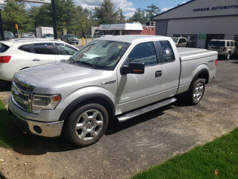 2014 Ford F-150 for sale at Topham Automotive Inc. in Middleboro MA