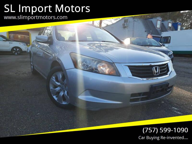 2008 Honda Accord for sale at SL Import Motors in Newport News VA
