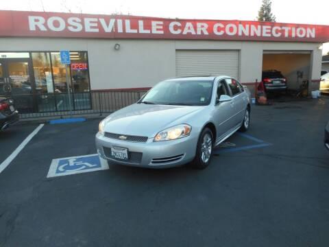 2013 Chevrolet Impala for sale at ROSEVILLE CAR CONNECTION in Roseville CA