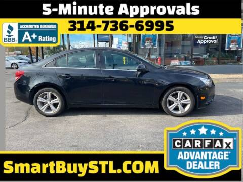 2014 Chevrolet Cruze for sale at Smart Buy Car Sales in St. Louis MO