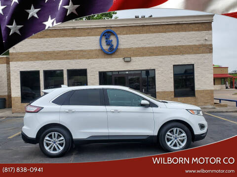 2016 Ford Edge for sale at Wilborn Motor Co in Fort Worth TX