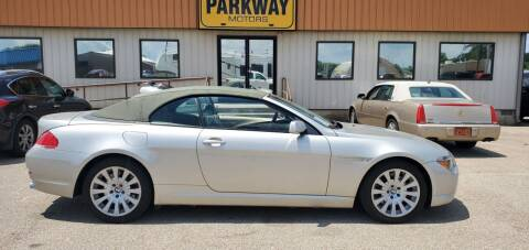 2004 BMW 6 Series for sale at Parkway Motors in Springfield IL