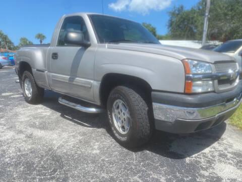 2004 Chevrolet Silverado 1500 for sale at Coastal Auto Ranch, Inc. in Port Saint Lucie FL
