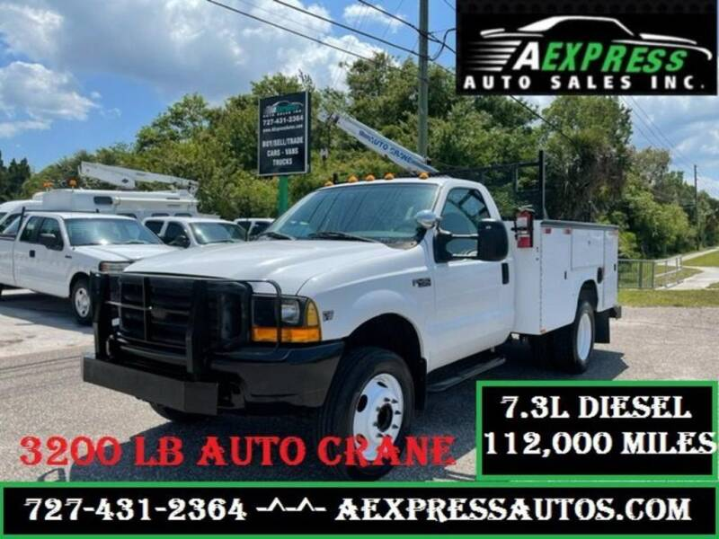 1999 Ford F-450 Super Duty for sale at A EXPRESS AUTO SALES INC in Tarpon Springs FL