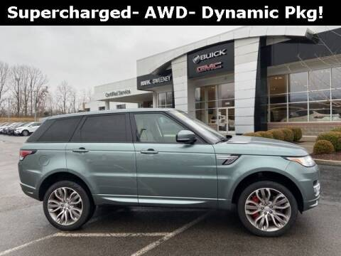 2017 Land Rover Range Rover Sport for sale at Mark Sweeney Buick GMC in Cincinnati OH
