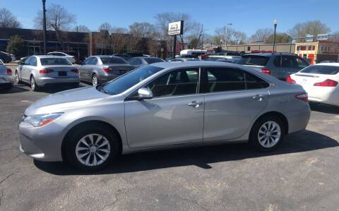 2016 Toyota Camry for sale at BWK of Columbia in Columbia SC