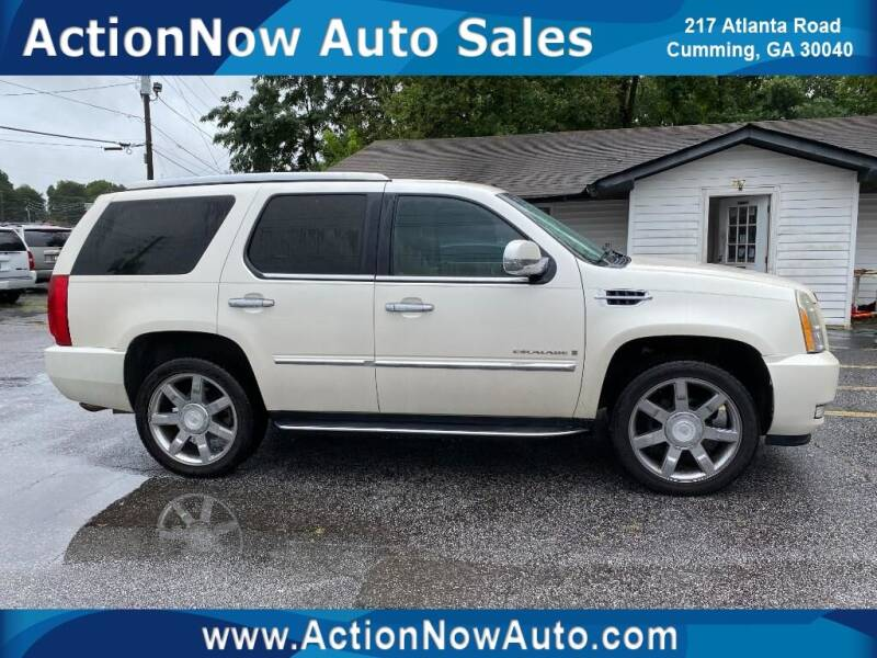 2008 Cadillac Escalade for sale at ACTION NOW AUTO SALES in Cumming GA