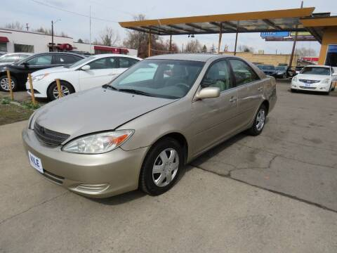 2004 Toyota Camry for sale at Nile Auto Sales in Denver CO