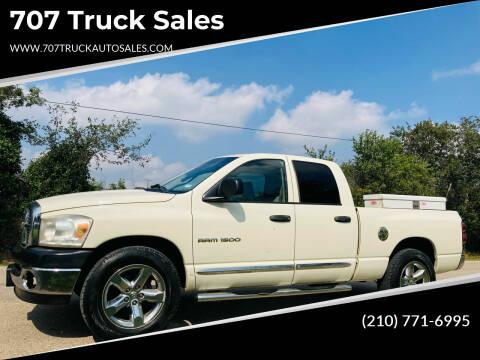 2007 Dodge Ram Pickup 1500 for sale at 707 Truck Sales in San Antonio TX