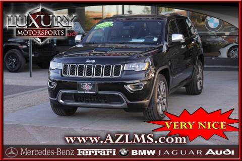 2018 Jeep Grand Cherokee for sale at Luxury Motorsports in Phoenix AZ