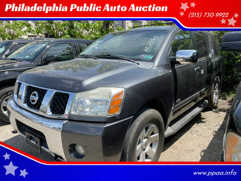 2006 Nissan Armada for sale at Philadelphia Public Auto Auction in Philadelphia PA