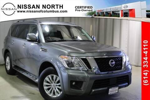 2019 Nissan Armada for sale at Auto Center of Columbus in Columbus OH