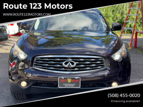 2010 Infiniti FX35 for sale at Route 123 Motors in Norton MA