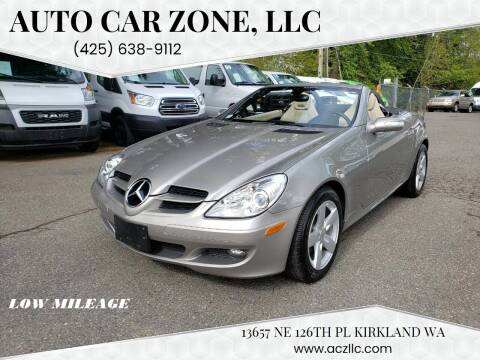 2007 Mercedes-Benz SLK for sale at Auto Car Zone, LLC in Kirkland WA