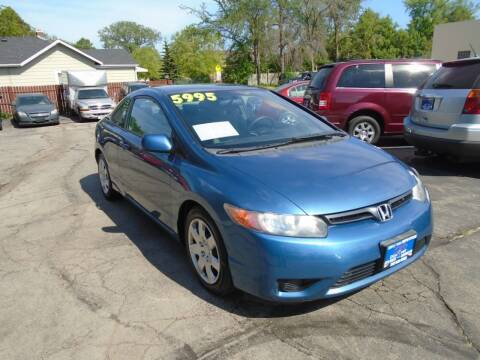 2007 Honda Civic for sale at DISCOVER AUTO SALES in Racine WI