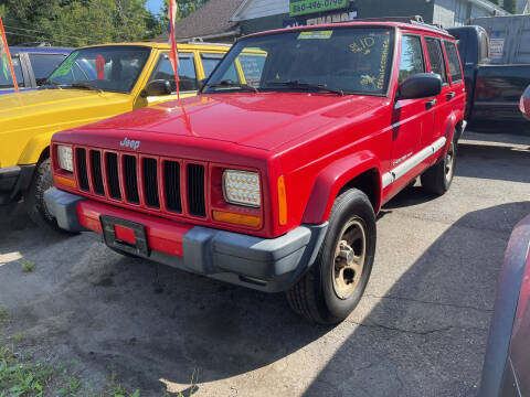 2001 Jeep Cherokee for sale at Connecticut Auto Wholesalers in Torrington CT