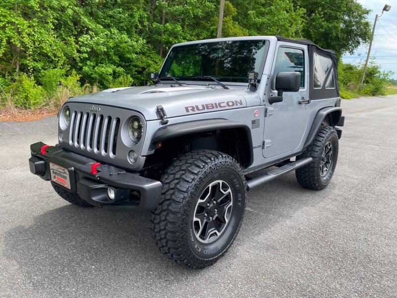 2014 Jeep Wrangler for sale at Autoteam of Valdosta in Valdosta GA