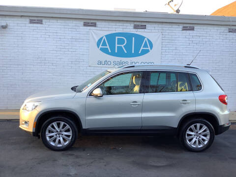 2010 Volkswagen Tiguan for sale at ARIA  AUTO  SALES in Raleigh NC