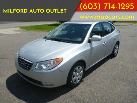 2007 Hyundai Elantra for sale at Milford Auto Outlet in Milford NH