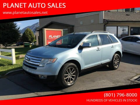 2008 Ford Edge for sale at PLANET AUTO SALES in Lindon UT