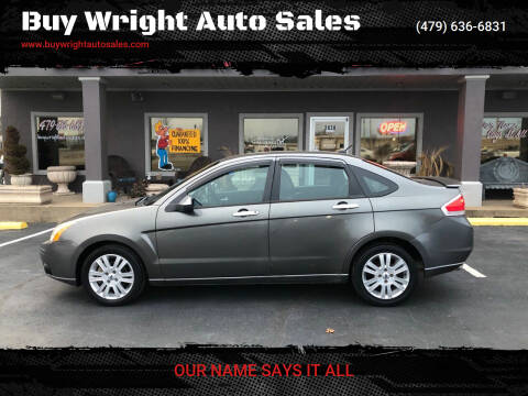 2010 Ford Focus for sale at Buy Wright Auto Sales in Rogers AR