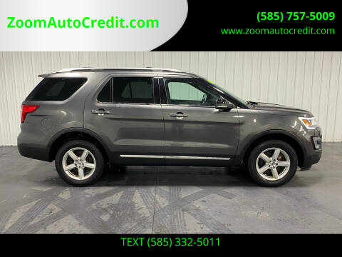 2017 Ford Explorer for sale at ZoomAutoCredit.com in Elba NY