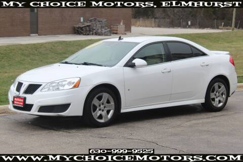 2009 Pontiac G6 for sale at Your Choice Autos - My Choice Motors in Elmhurst IL