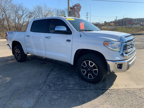 2017 Toyota Tundra for sale at Foust Fleet Leasing in Topeka KS